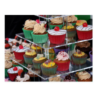 Cup cakes postcard