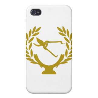 Cup-crown-agry-scissors iPhone 4/4S Cover