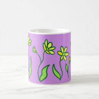 Cup daisies lilac