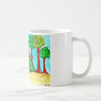 Cup dragon with lighter basic white mug