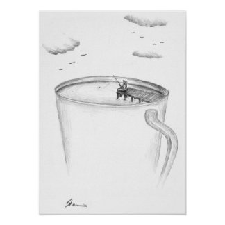 Cup - Fisherman Poster