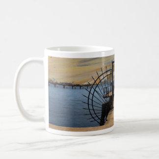 "Cup ""ghost Port "" Basic White Mug"