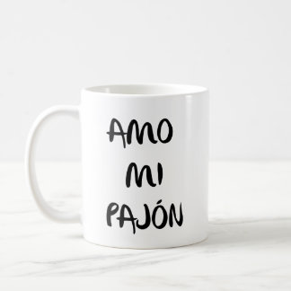 "Cup ""I love my pajón """