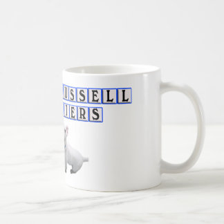 CUP / MUG - I LOVE (HEART) JACK RUSSELL TERRIERS