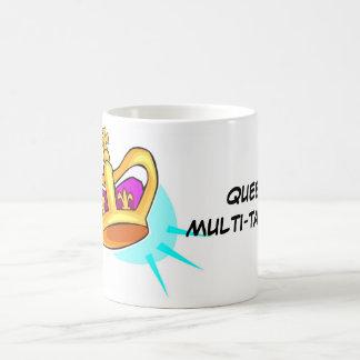 Cup-Mug Queen Muli-Tasker Basic White Mug