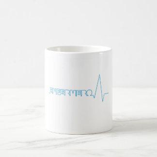 Cup nurse basic white mug