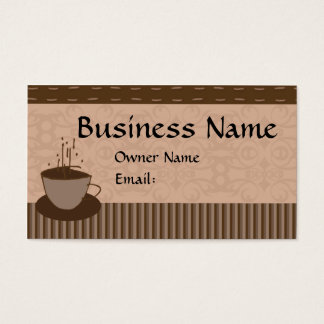Cup O Java Business Card