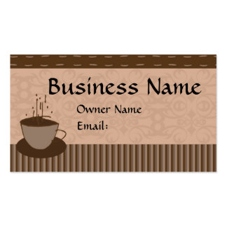 Cup O Java Pack Of Standard Business Cards