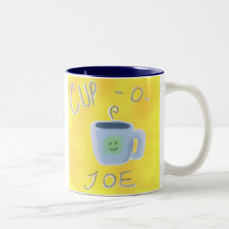 Cup-O-Joe Two-Tone Coffee Mug