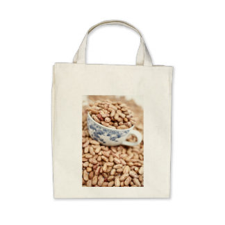 Cup of beans tote bag