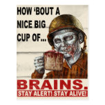 Cup of Brains Postcards