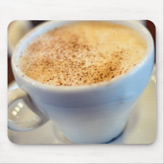 Cup of cappuccino mouse pad