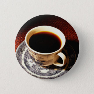 Cup Of Coffee 6 Cm Round Badge