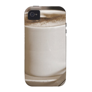 Cup of Coffee iPhone 4/4S Case-Mate Case