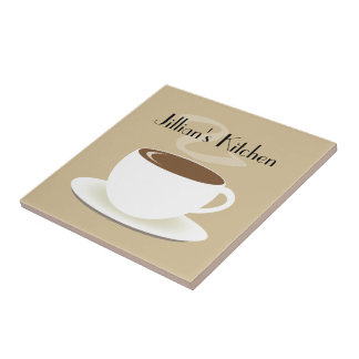 Cup of Coffee Kitchen Tile