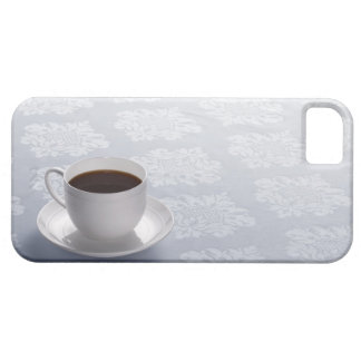 cup of coffee on table iPhone 5 cover