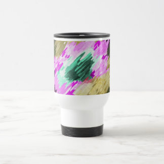 Cup of formation abstractly multicolored mugs