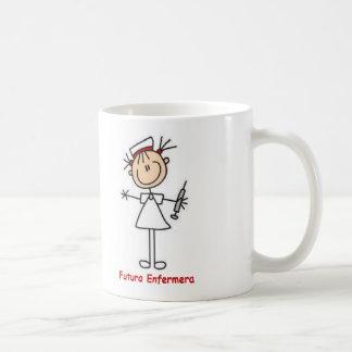 Cup of future nurse basic white mug