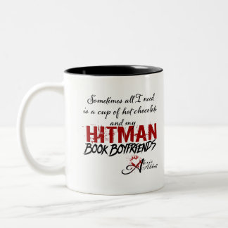 Cup of Hot Chocolate & Hitman Book Boyfriends