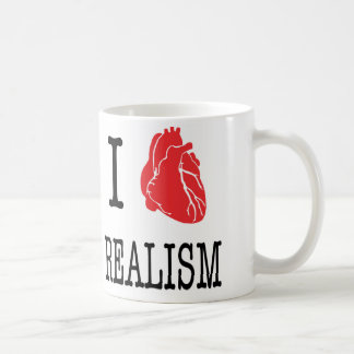 Cup of I love realism