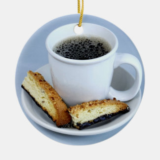 Cup of Java and Biscotti Ornament