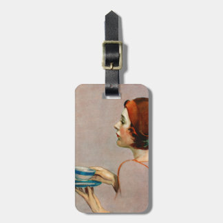 Cup of Java Luggage Tag