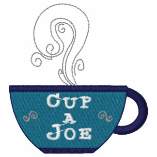 Cup Of Joe Coffee Embroidered Shirt