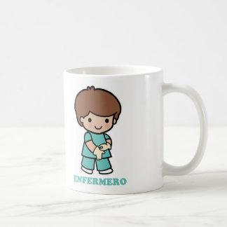 Cup of nurse basic white mug
