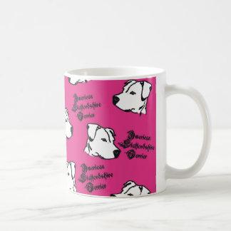 "Cup of ""pink Staffi "" Coffee Mug"