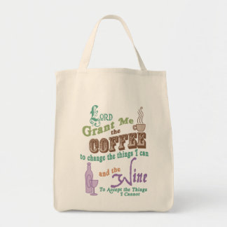 Cup of Serenity Canvas Bags