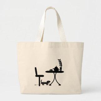 Cup of Tea Large Tote Bag