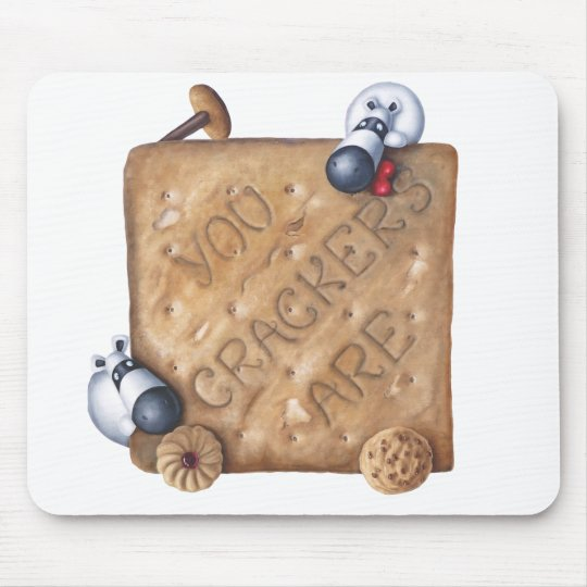 Cup Of Tea Slice Of Bake - You Drive Me Crackers! Mouse Mat