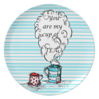 Cup of Time - Melamine Plate (2)
