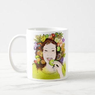 Cup organic Foods Basic White Mug