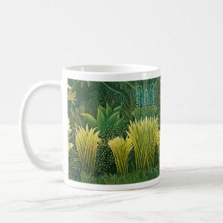 """Cup """"Painting naif """" Basic White Mug"""