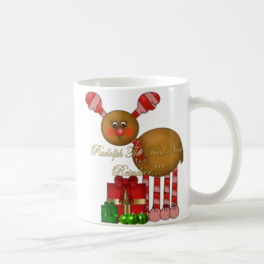 Cup-Rudolph the Red Nose Reindeer Coffee Mug