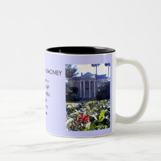 Cup The Five Rules of MONEY House and Car Two-Tone Mug