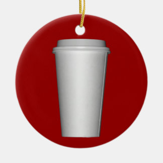 Cup To Go Christmas Ornament
