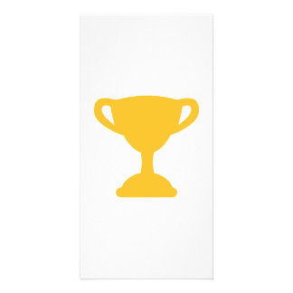 Cup trophy champion picture card