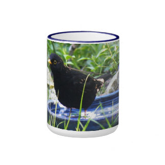 Cup with bird ringer mug