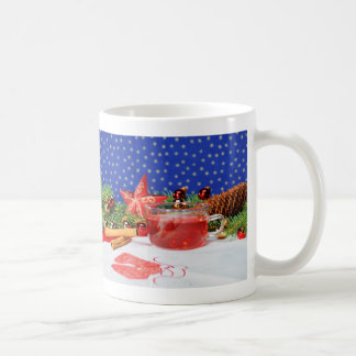 Cup with Christmas motive