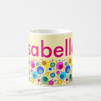 "Cup with name ""Isabella "" Basic White Mug"