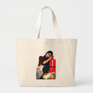 cup with own pic jumbo tote bag