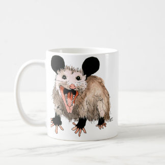 Cup with sweet opossum