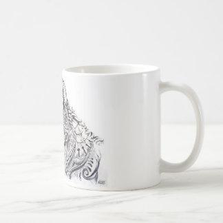 Cup wolf basic white mug