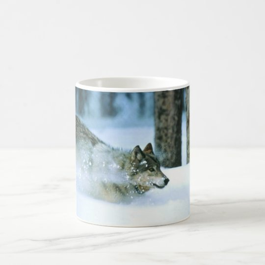 Cup-Wolf Running Coffee Mug