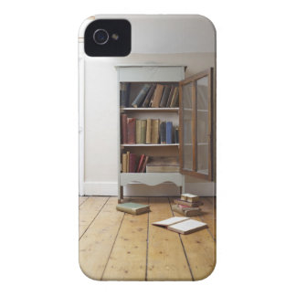 Cupboard full of books. iPhone 4 cover