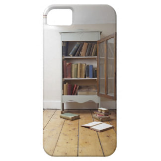 Cupboard full of books. iPhone 5 case
