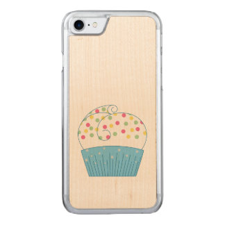 Cupcake 1 carved iPhone 7 case