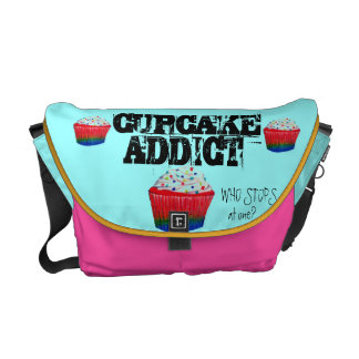 Cupcake Addict Courier Bags